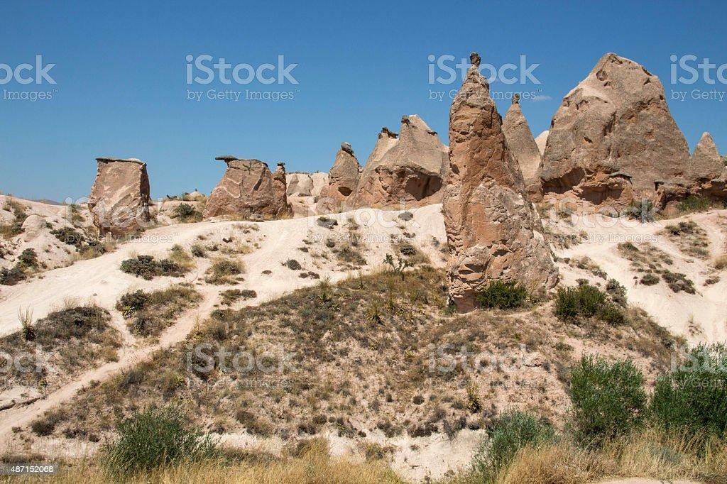 Cappadocia Landscape stock photo