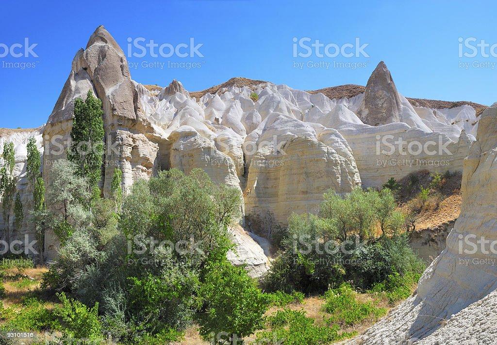 Cappadocia landscape royalty-free stock photo