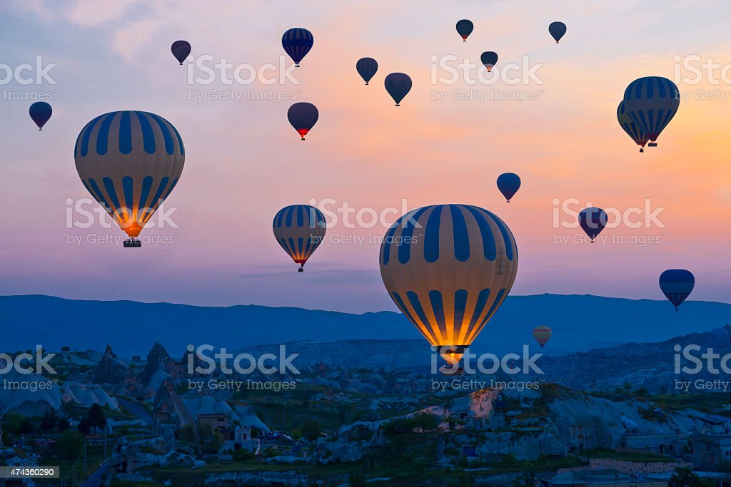 Cappadocia - Turkeye stock photo