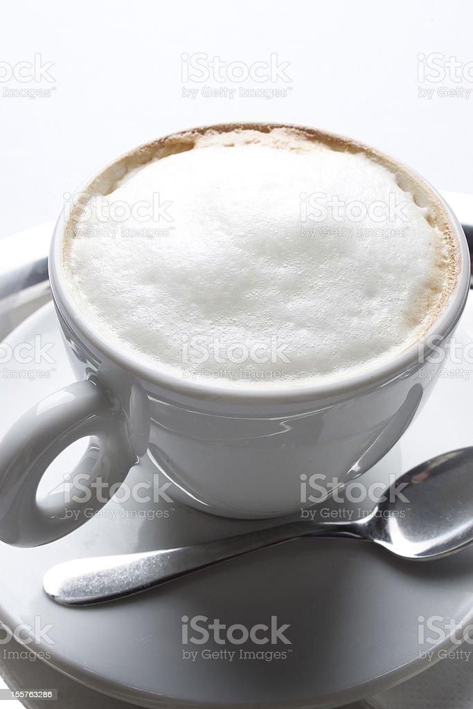 cappuccino coffee break restaurant studio foam smell royalty-free stock photo