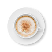 istock Cappuccino Coffee Cup and Saucer 928100566