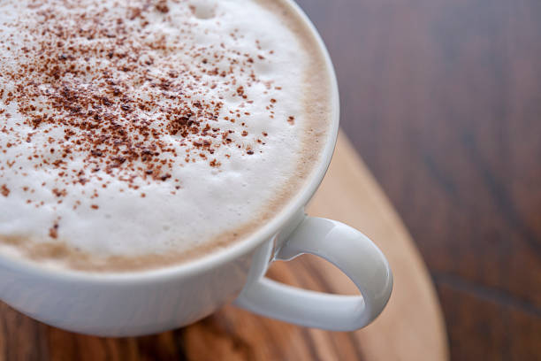 Cappuccino Coffee stock photo
