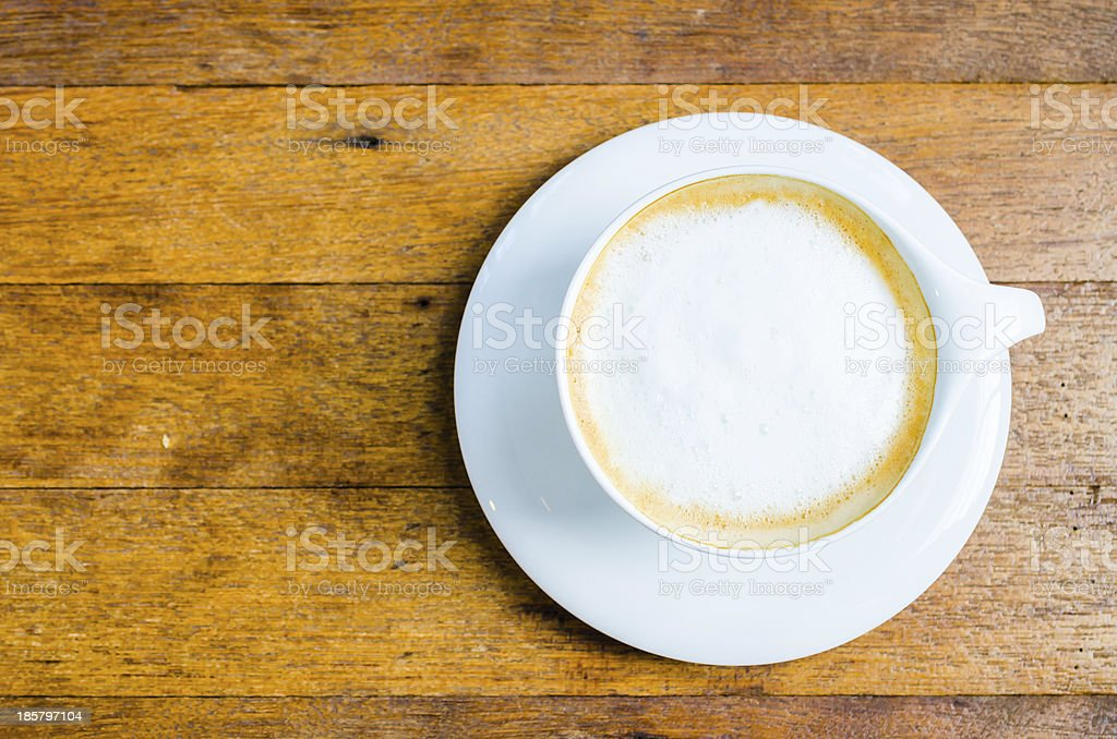 Cappuccino coffee royalty-free stock photo