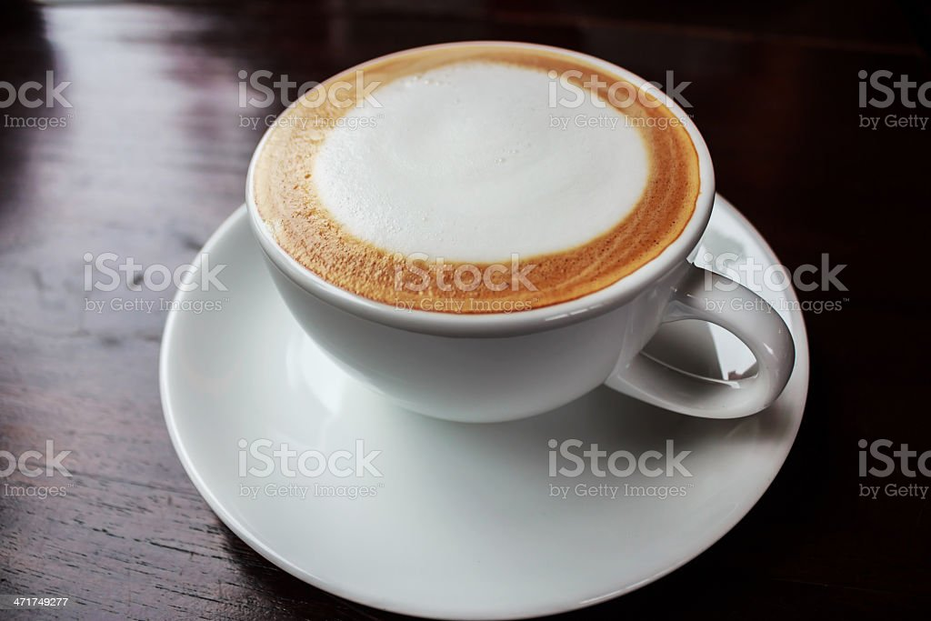 Cappuccino  Cup royalty-free stock photo