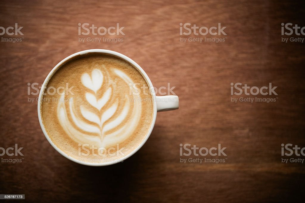 Cappuccino royalty-free stock photo