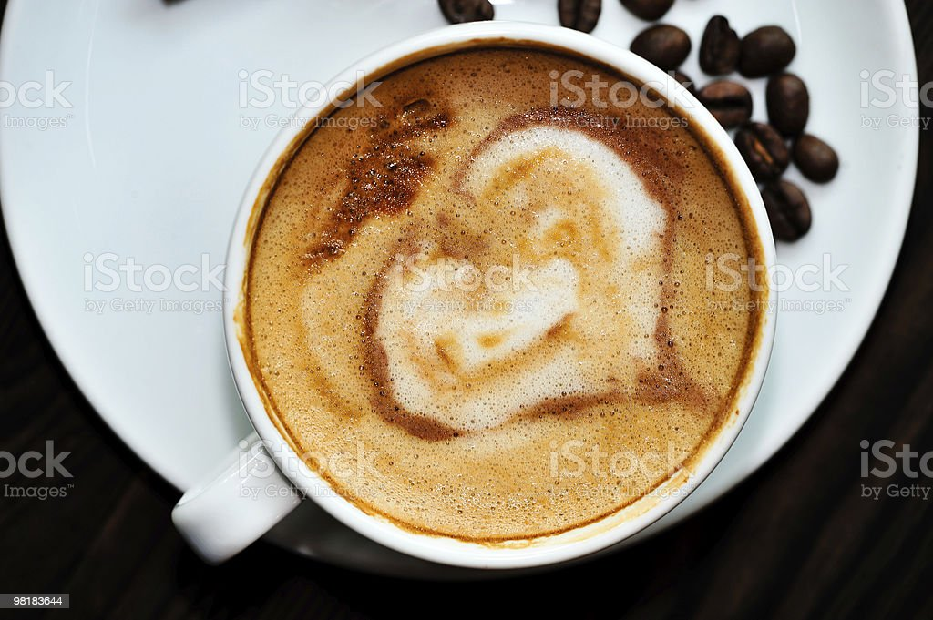 cappuccino foto stock royalty-free