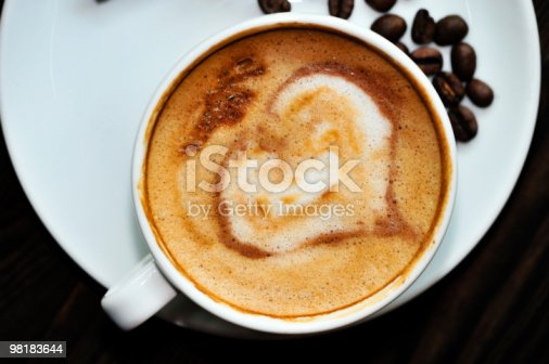 Cappuccino Stock Photo & More Pictures of Art