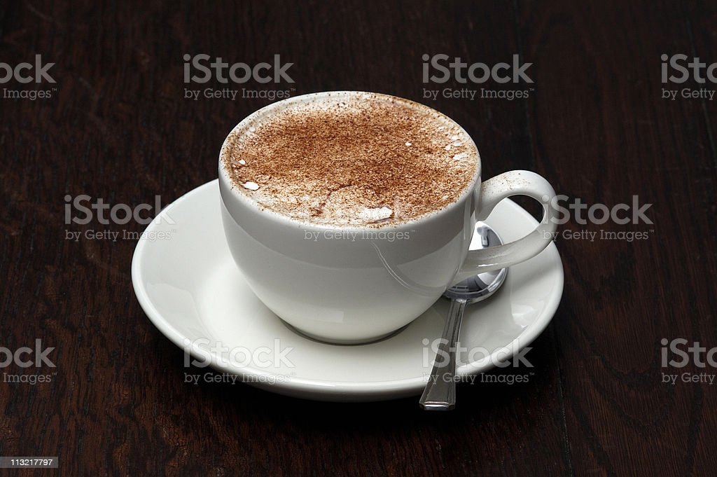 cappuccino please royalty-free stock photo