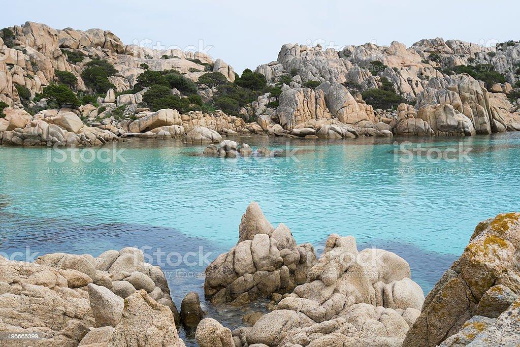 Caprera island, Sardinia, Italy stock photo