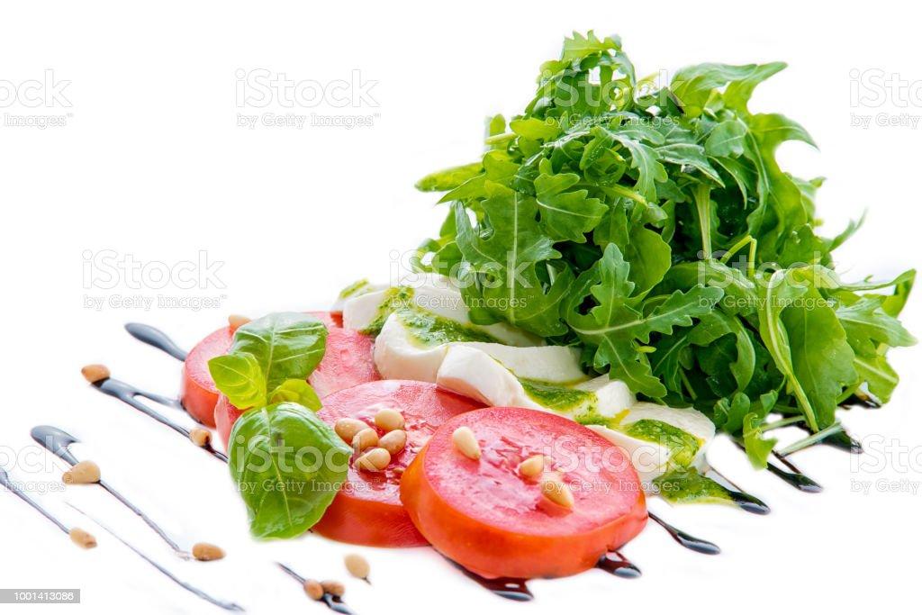 Caprese Capresesalat Italienischer Salat Mediterraner Salat ...