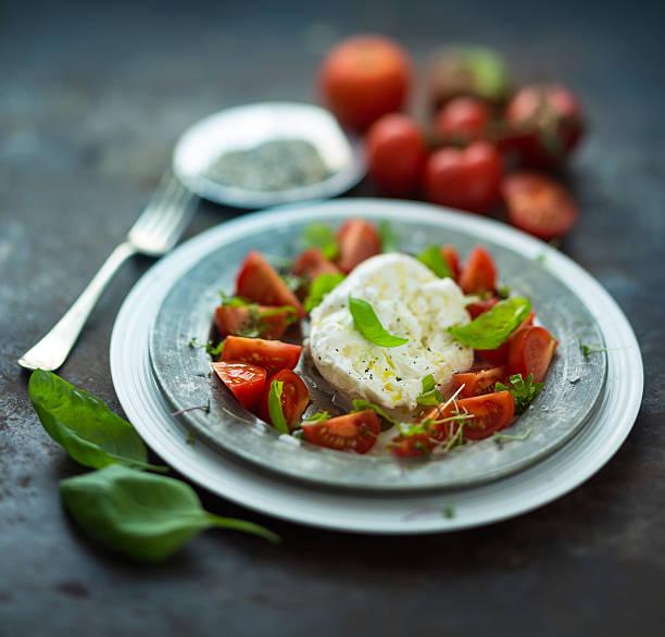 caprese - caprese salat stock-fotos und bilder