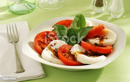 Caprese salad!