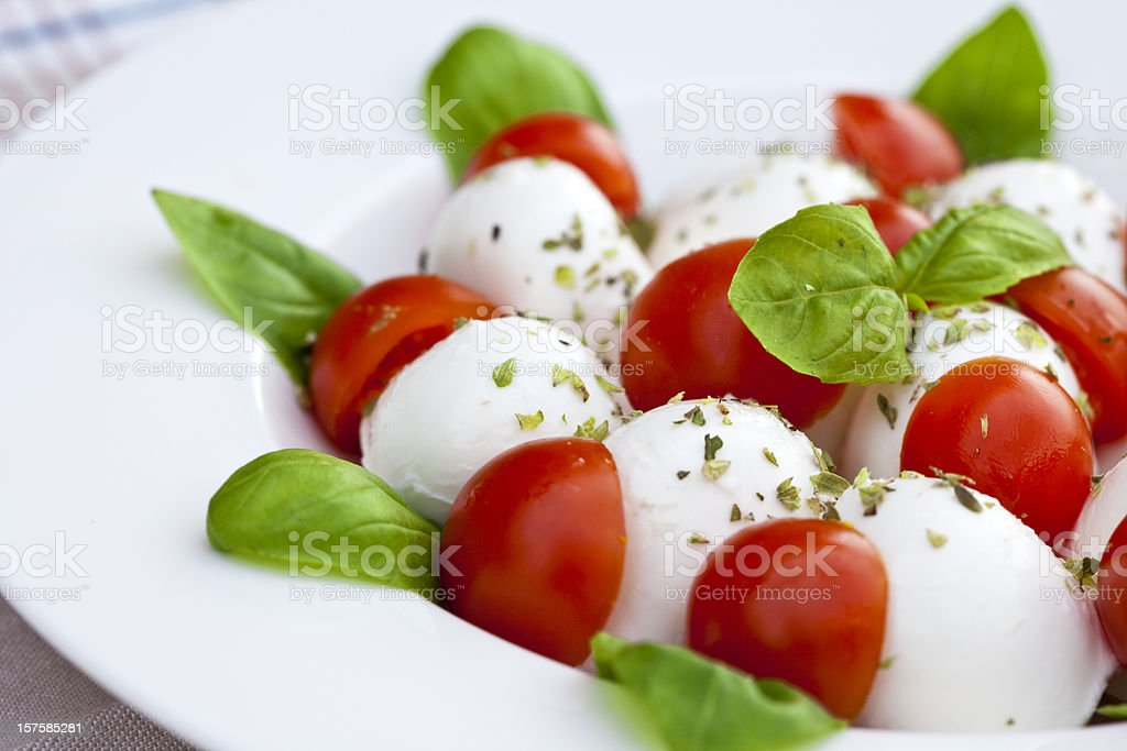 caprese salad royalty-free stock photo