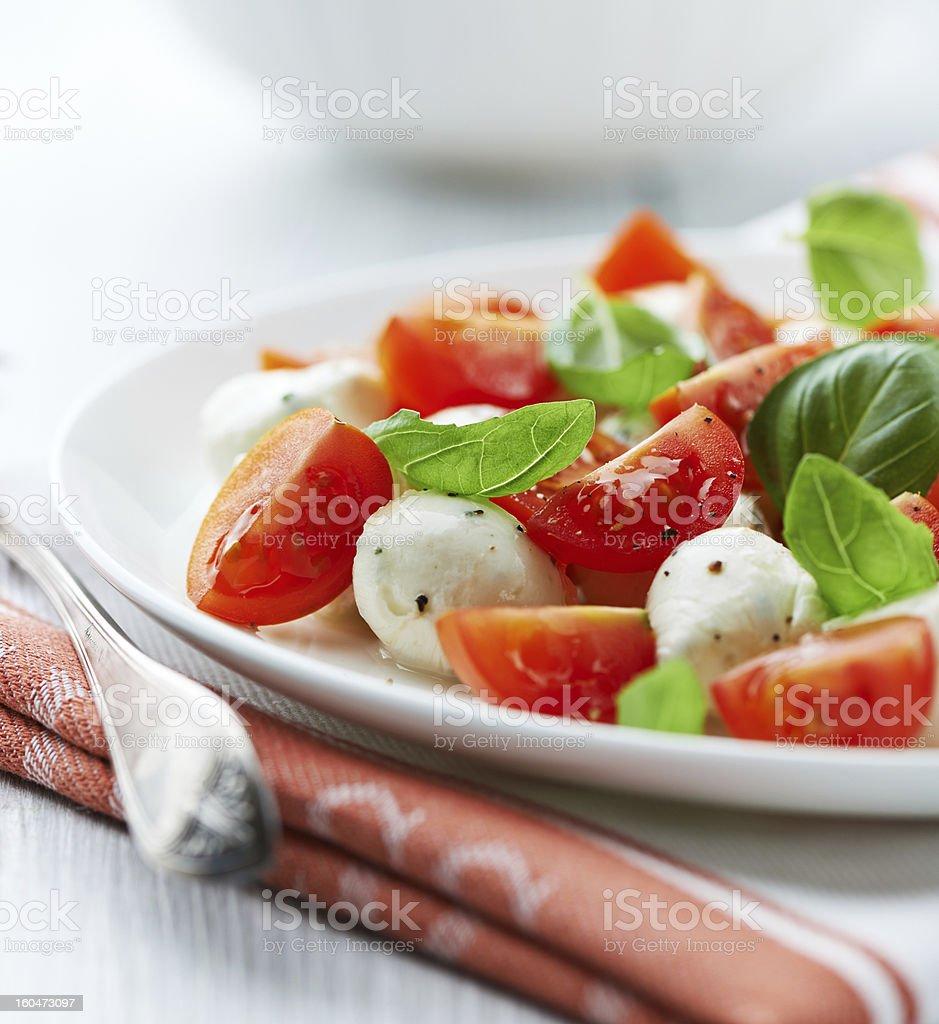 Caprese Salad royalty-free stock photo