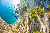 Capri coast
