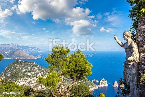 istock Capri island in  Italy 1257436275