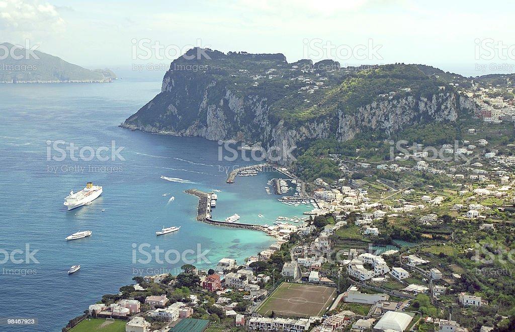 Capri island, Italy royalty-free stock photo