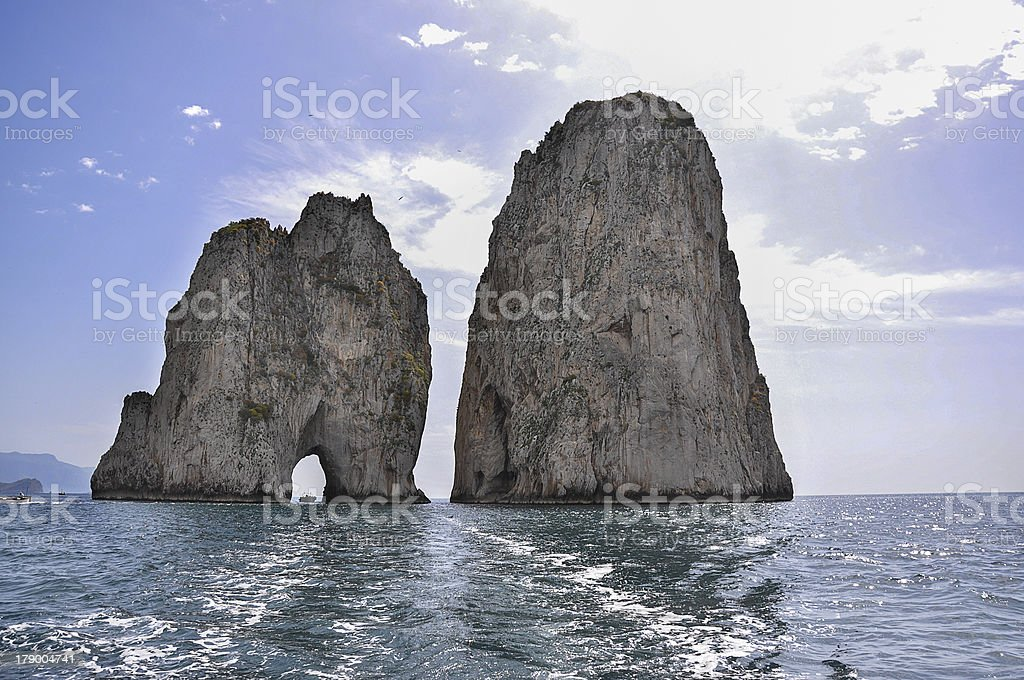 Capri Rocks royalty-free stock photo