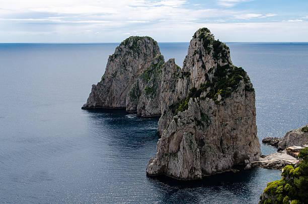Pilas de Capri - foto de stock