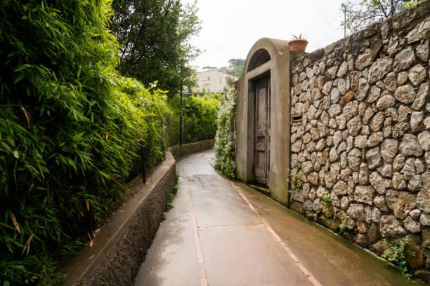 Capri gewundenen Pfad – Foto