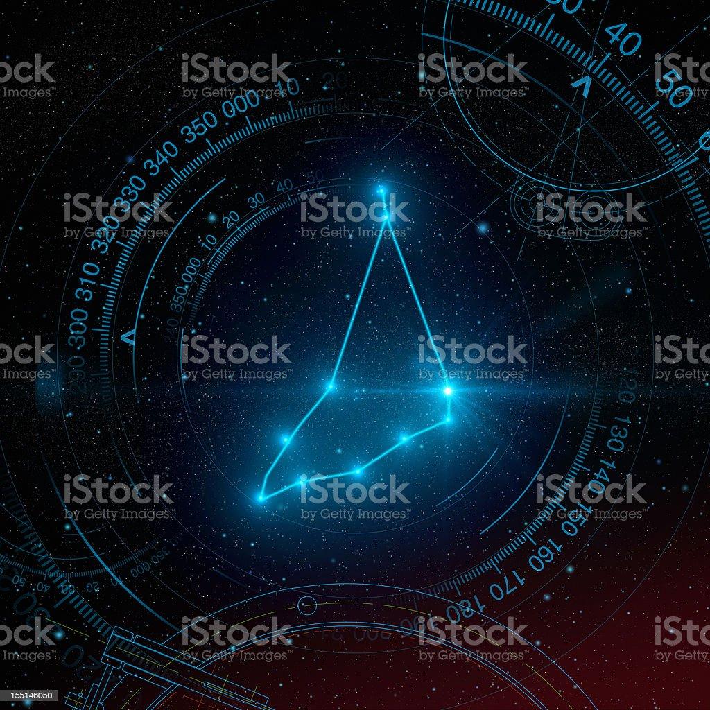 Capricorn Constellation stock photo
