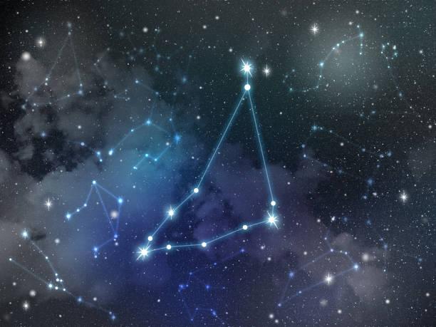 Capricorn constellation star Zodiac stock photo