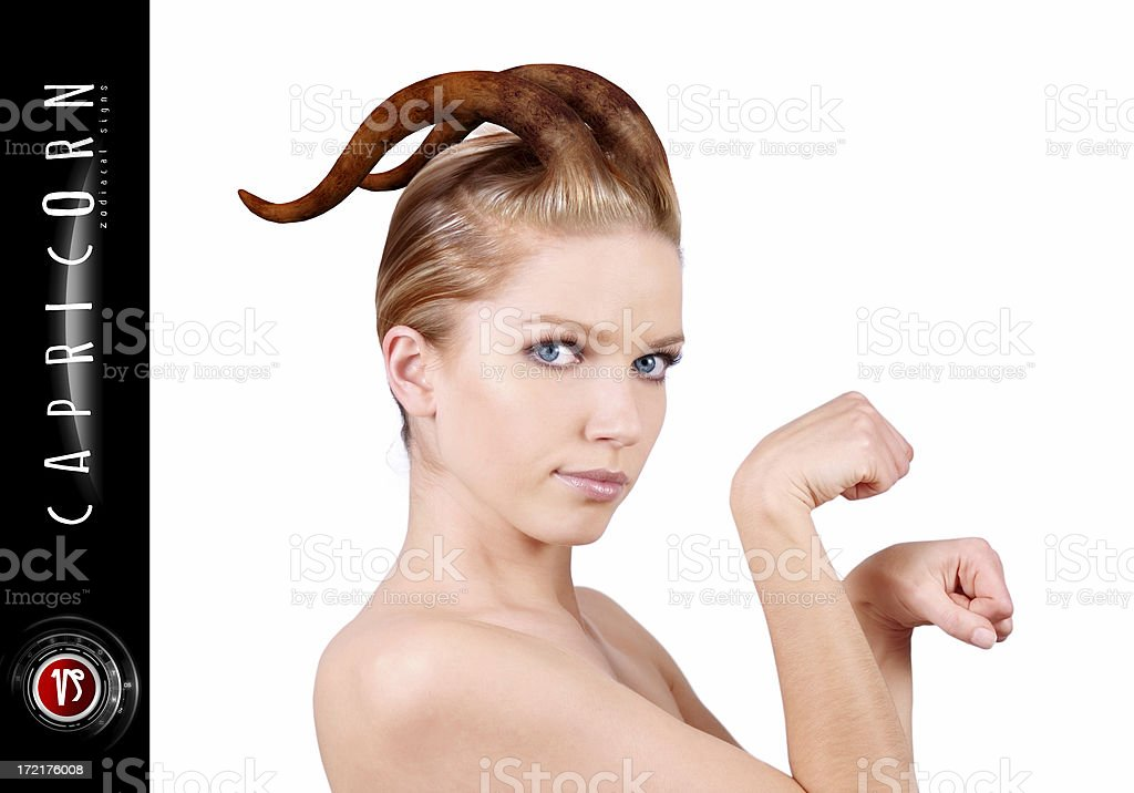 ZODIAC: Capricorn royalty-free stock photo