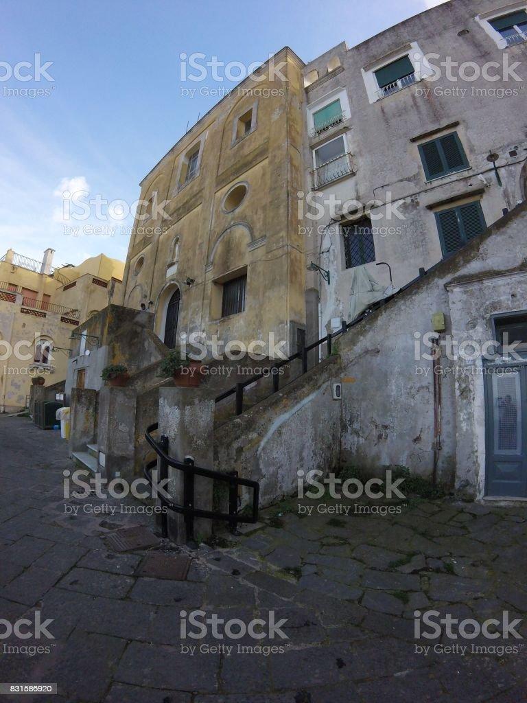 Capri's Oldest Building stock photo