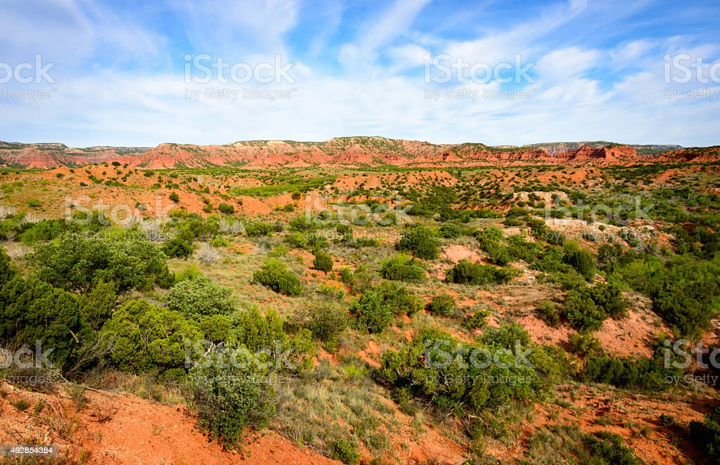 Caprock Canyons State Park and Trailway stock photo