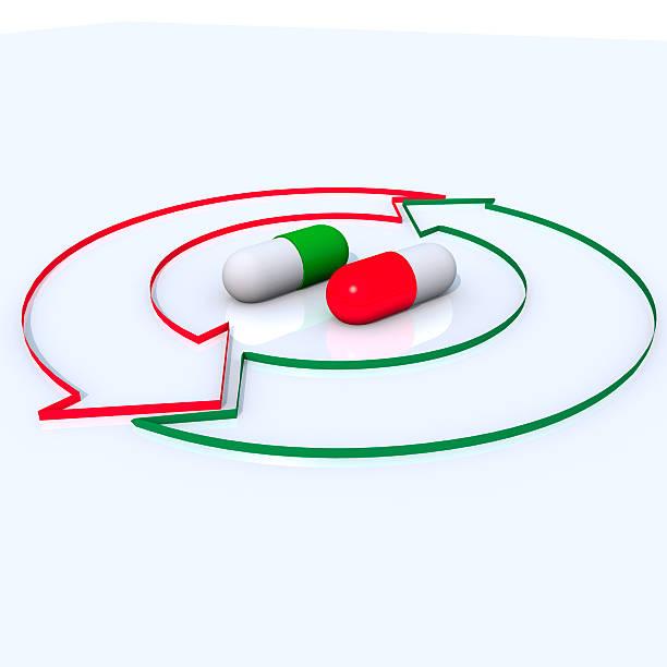 Kapsel und den Kreislauf – Foto