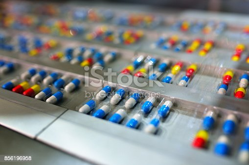istock Capsule Package Production Line 856196958