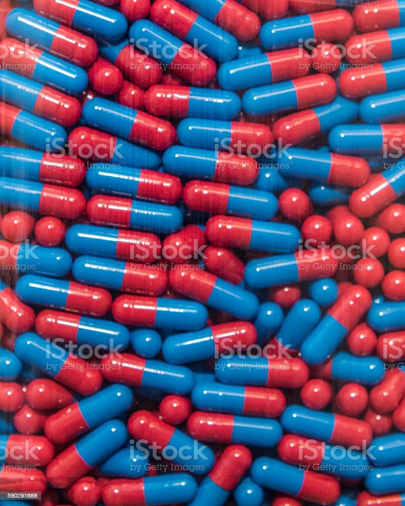 Капсулы в  Стоковые фото Стоковая фотография