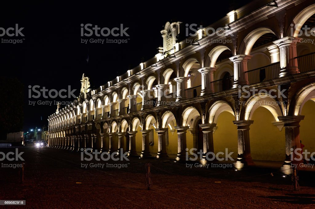 Captain General Palace in Antigua in Guatemala - foto de stock