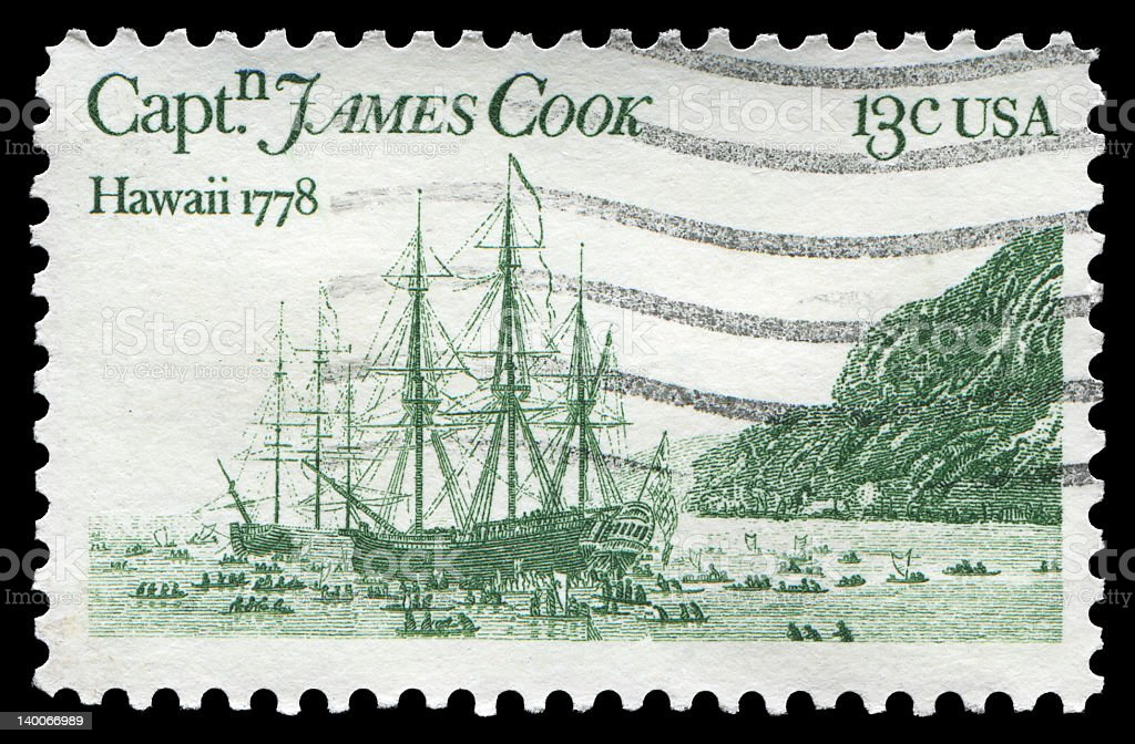 Captain James Cook (XXLarge) royalty-free stock photo