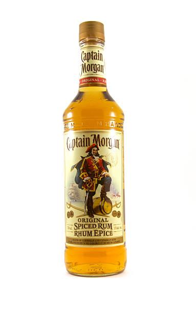 Captain Morgan rum stock photo