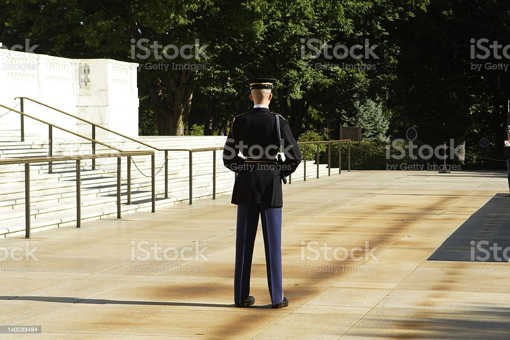 Captain of the guard royalty-free stock photo