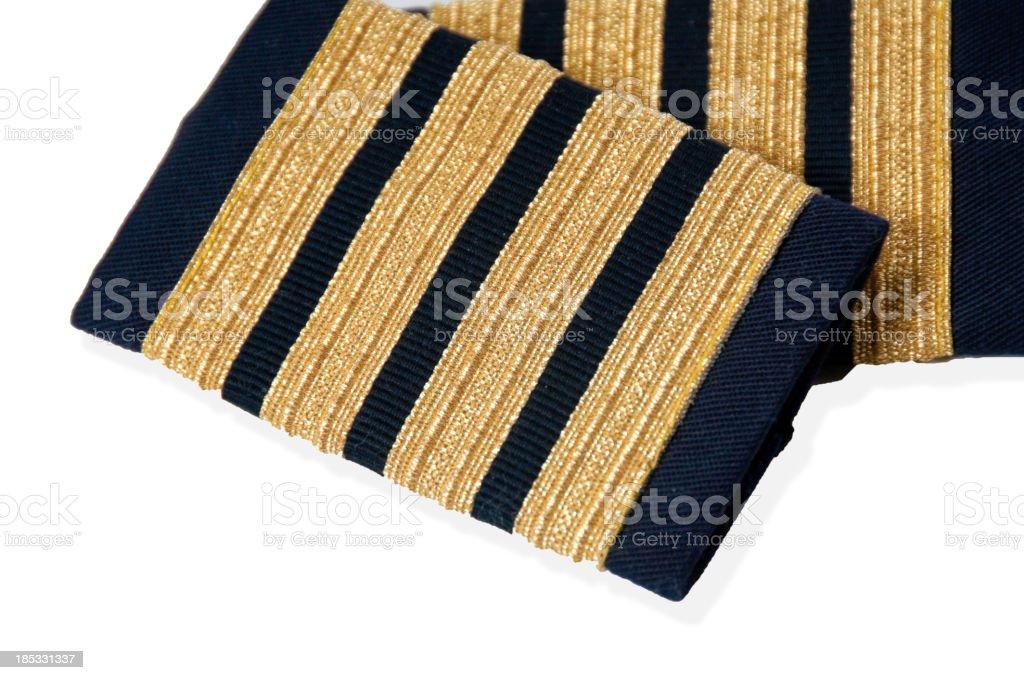 Captain stock photo