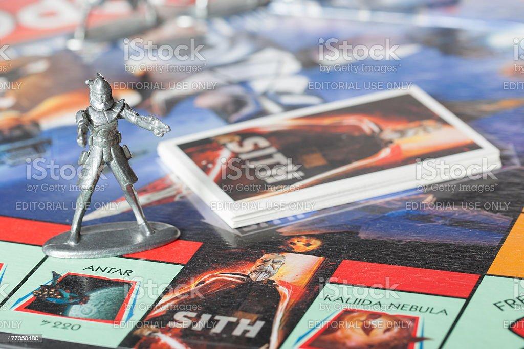 Captain Rex-Monopoly stock photo