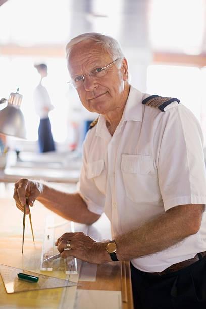 Capitaine cadre les boussoles - Photo
