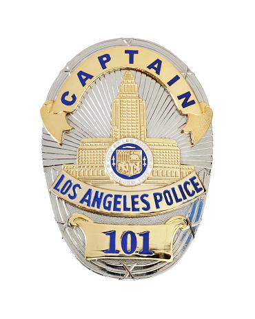 istock LAPD Captain's badge 458589767