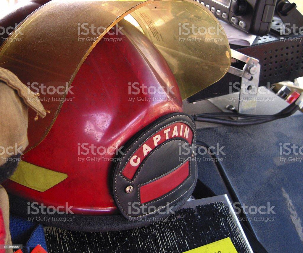 Captain's Helmet royalty-free stock photo