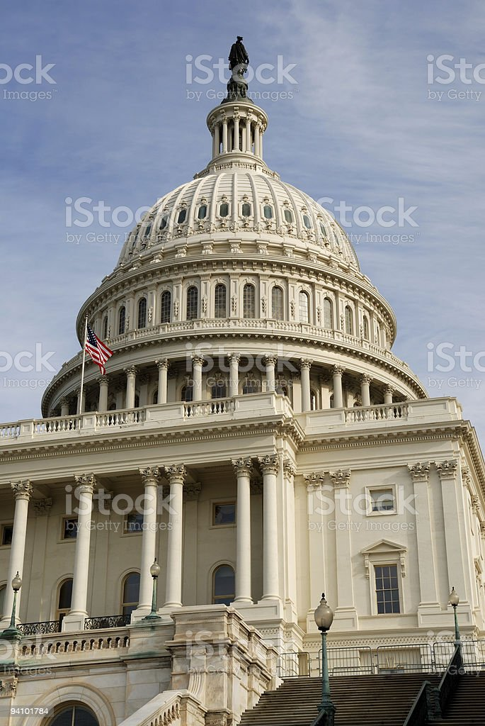 Captiol Building, Washington, DC royalty-free stock photo