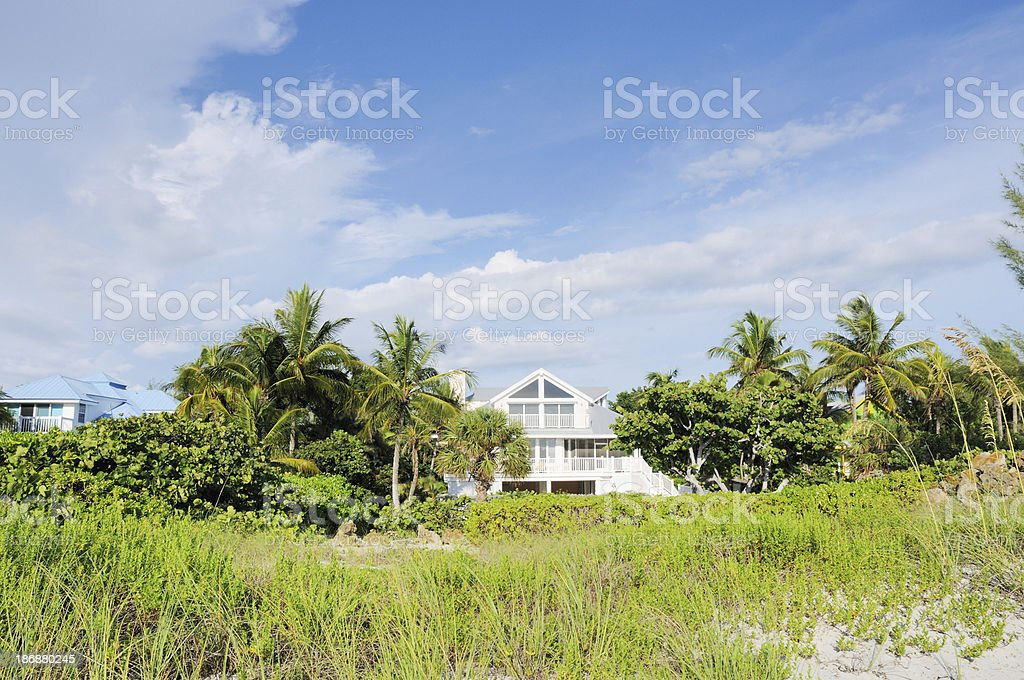 Captiva Island Florida Real Estate Vacation Home Holiday Villa stock photo
