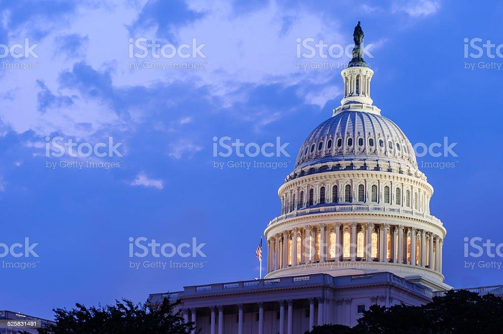 US Captol stock photo