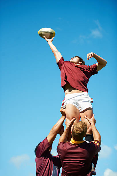 capturing an epic moment - rugby stock photos and pictures