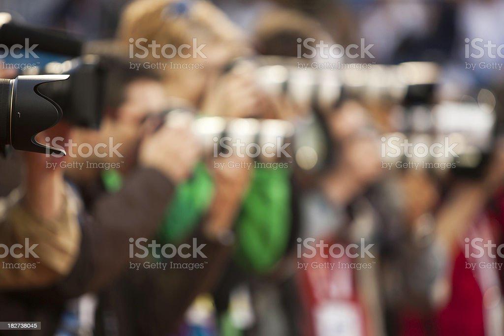 Capturing an image stock photo