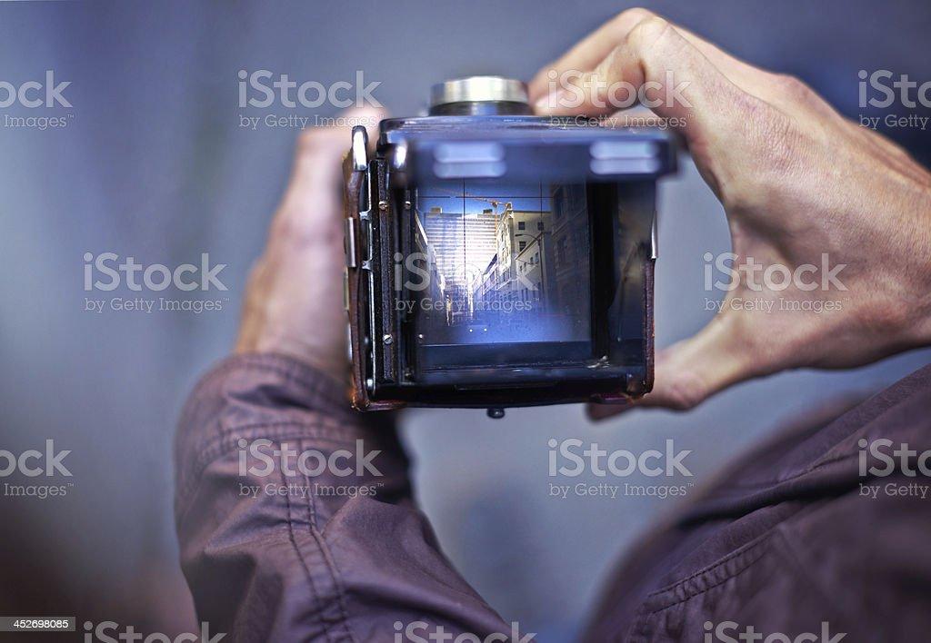 Capturing beautiful images stock photo