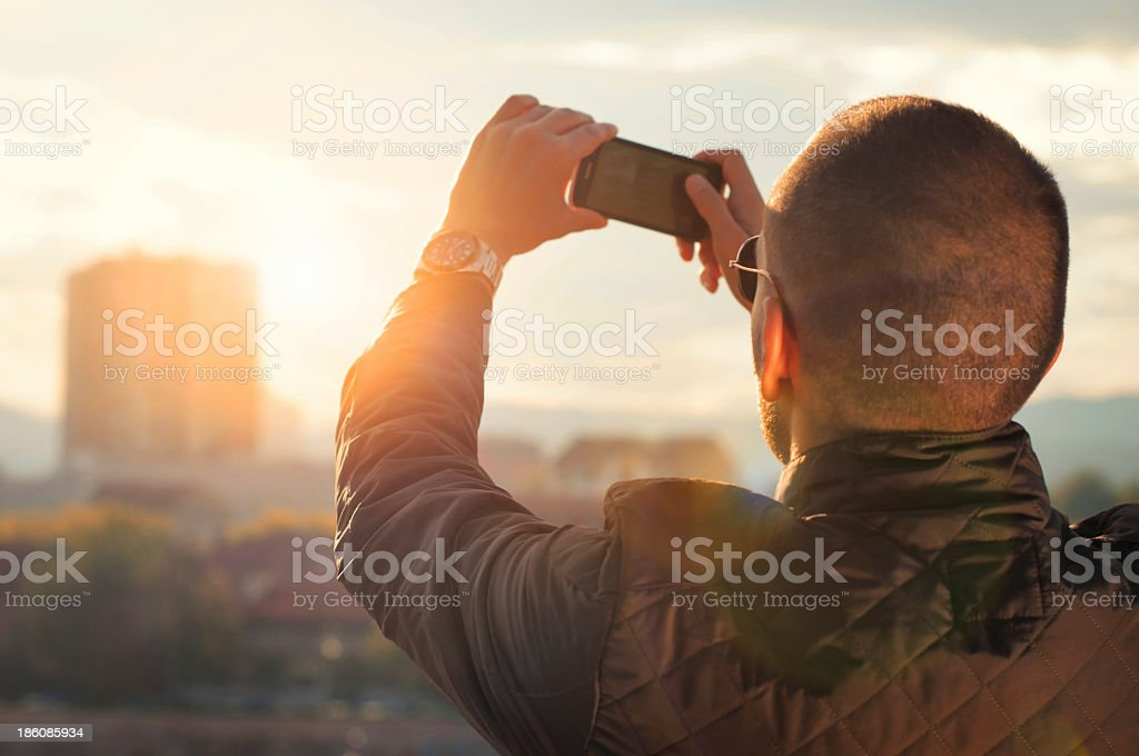 Capturing City royalty-free stock photo