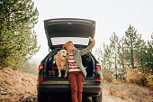 istock Capturing moments of our road trip 1254084127