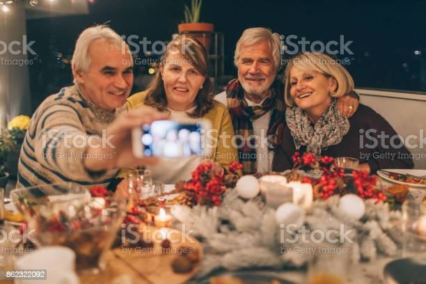 Capturing Thanksgiving Memories Stock Photo - Download Image Now